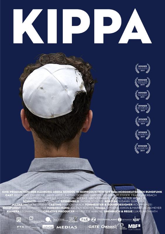 Kippa – der Film, Filmplakat